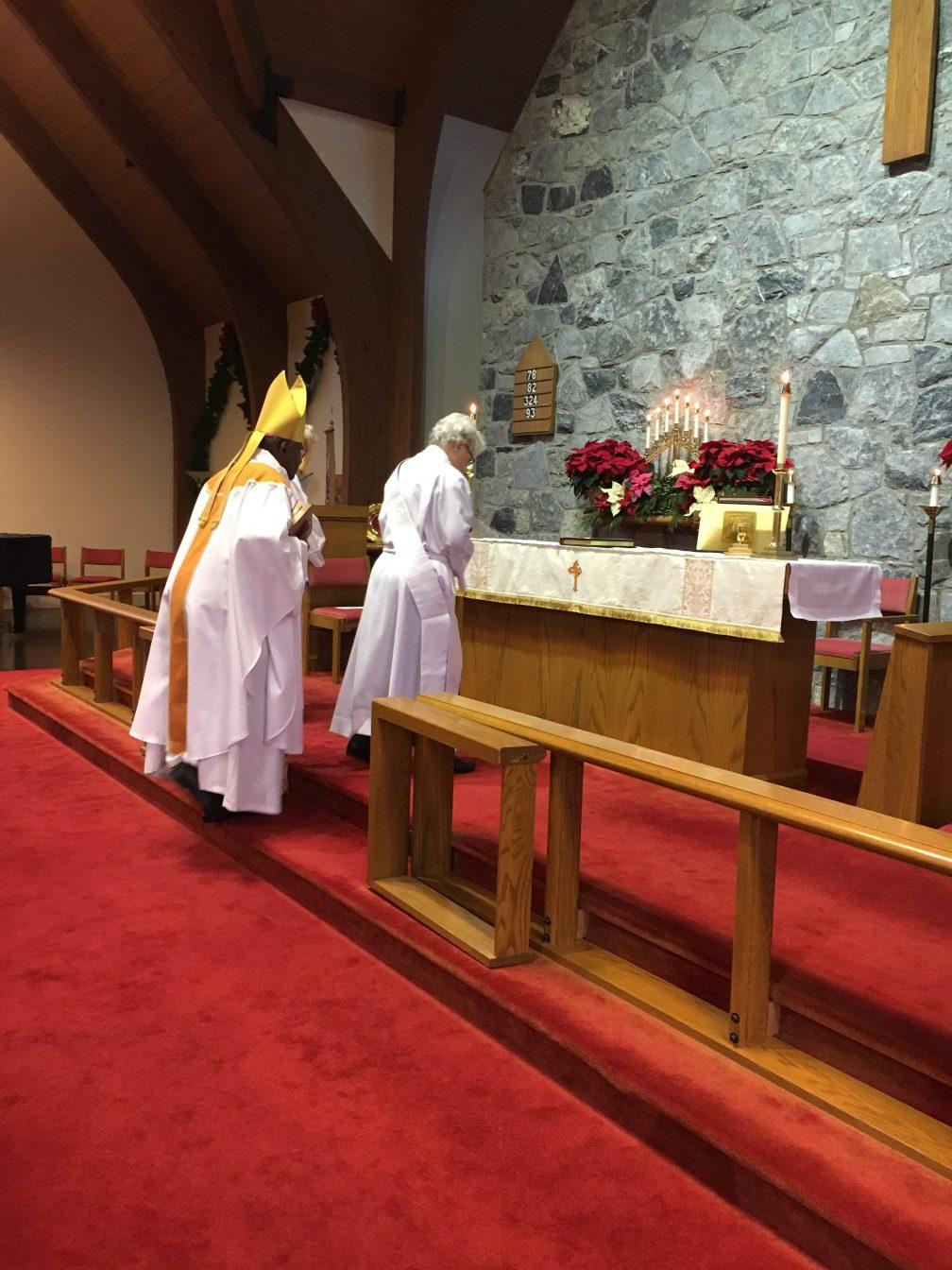Bishop Baxter and Nancy Rementer