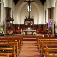 Inside Our Lady and St Gerard's