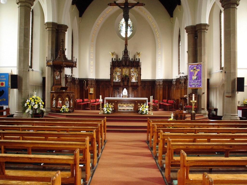 Inside Our Lady and St Gerard