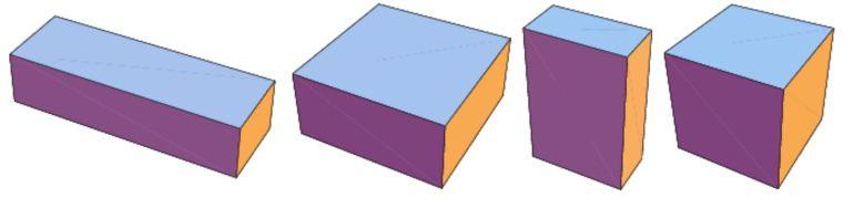 Cara menghitung volume balok dan luas permukaan balok