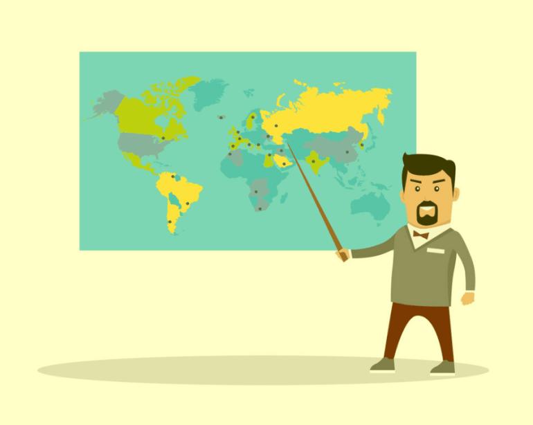 Penjelasan prinsip geografi