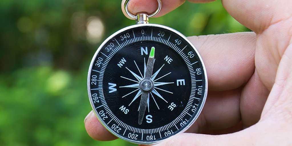 Menentukan arah mata angin dengan kompas