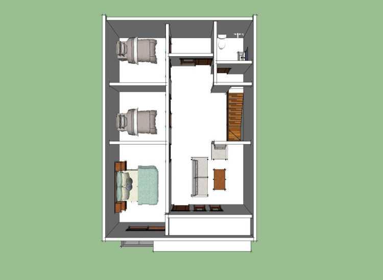 17 Contoh Denah Rumah Minimalis 2020 Modern Nyaman Dan