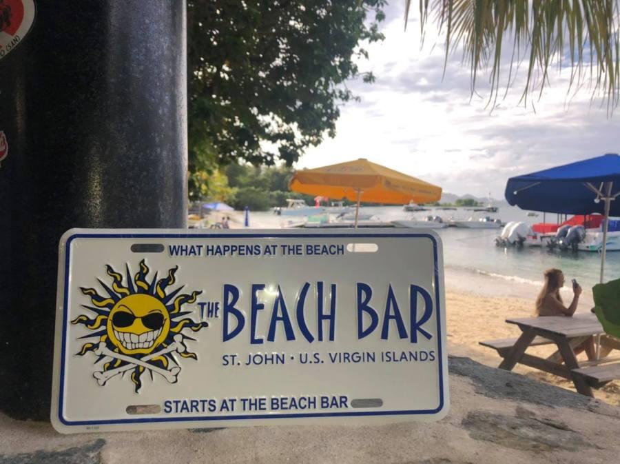 The Beach Bar St. John