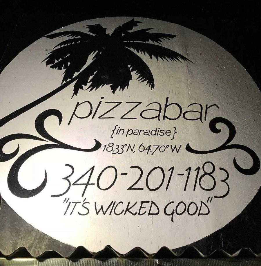 Pizzabar in Paradise St. John USVI