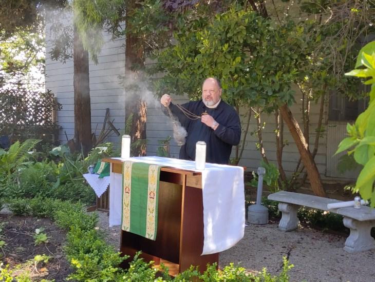 garden worship service