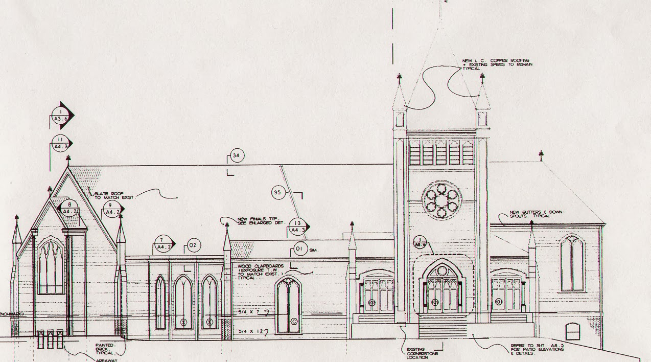 St. John the Evangelist Church: Drawings and Photographs