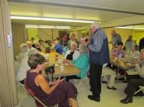 Fr. Jack Roach Enjoys Time With Parishioners