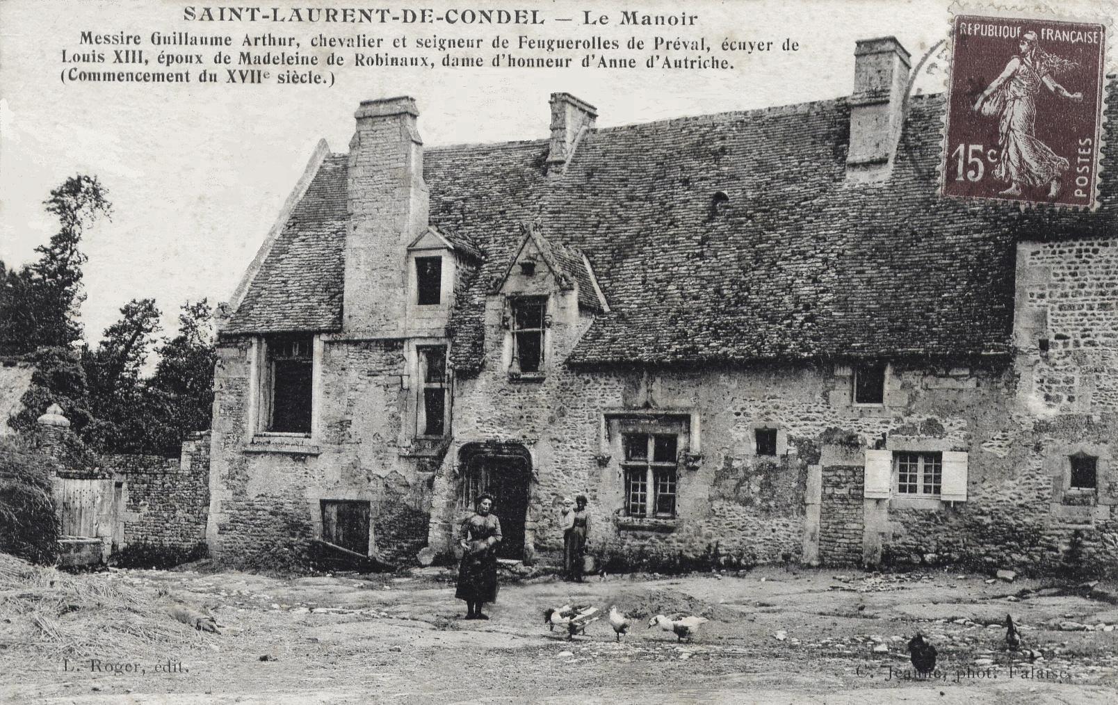 Histoire De Saint Laurent De Condel Par Pierre Fouillet