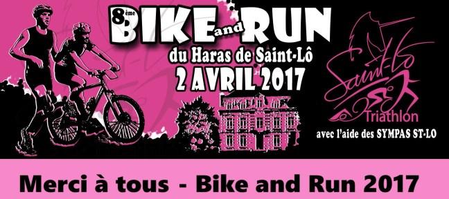 Bike and Run 2017 : Remerciements et photos !