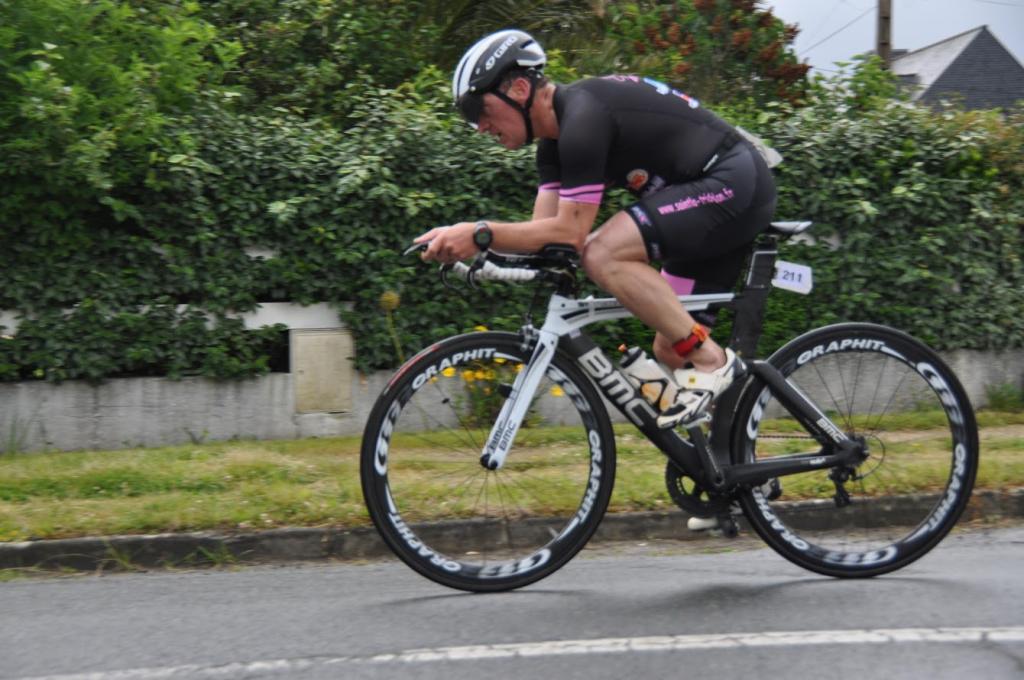 Triathlon de Trégastel 2017 – Franck