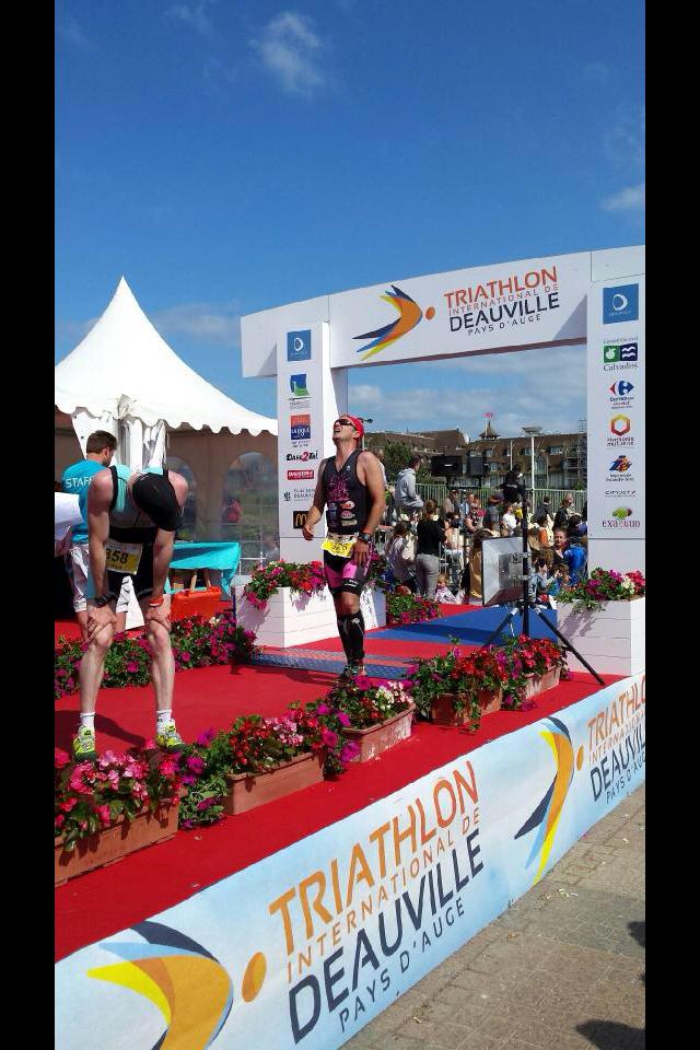 triathlon internationale de DEAUVILLE