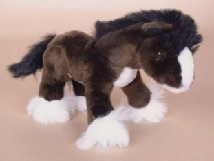 plush clydesdale