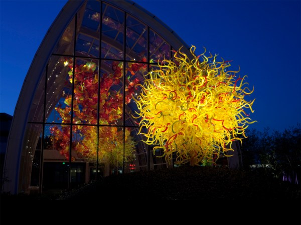 Dale Chihuly Glass Garden Seattle