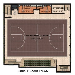 Multiple Basketball Court Diagram Ac Delco Alternator Wiring Old Fashioned Acdelco New Building Floor Plan And Features Coptic Orthodox