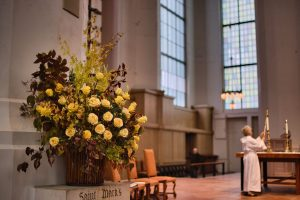 Flowers in the Nave