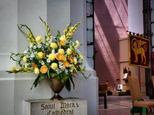 Flowers in Memory of the Rev. Tim Nakayama