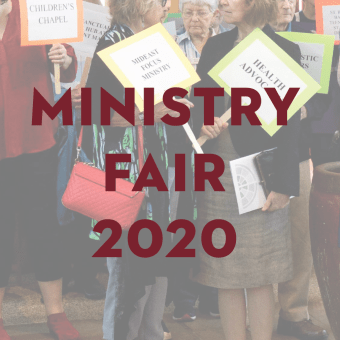 Ministry Blessing Sunday and Ministry Fair (Online)