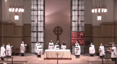 Compline on the First Sunday after Pentecost: Trinity Sunday, 2021