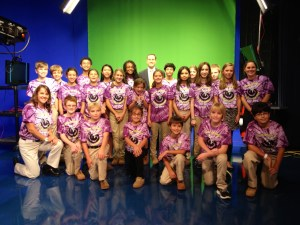 Our visit to the WTVR Weather Station