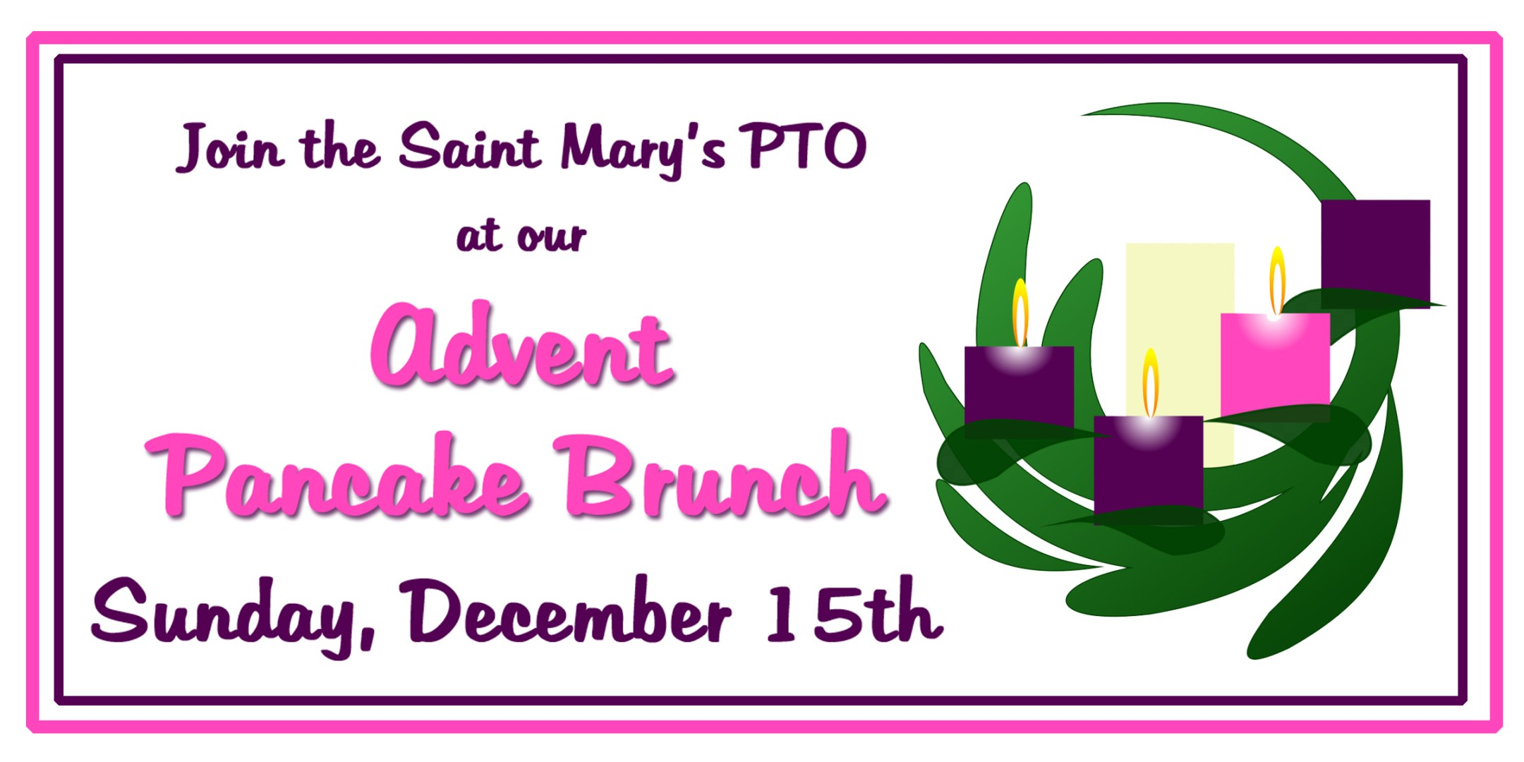Advent Pancake Brunch