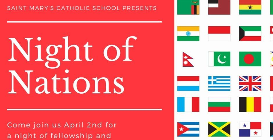 Night Of Nations April 2, 2020!