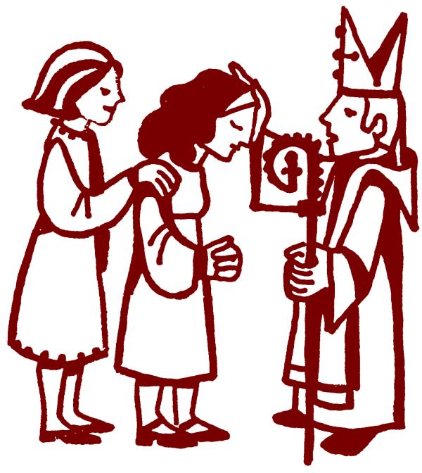 confirmation st. mary's basilica