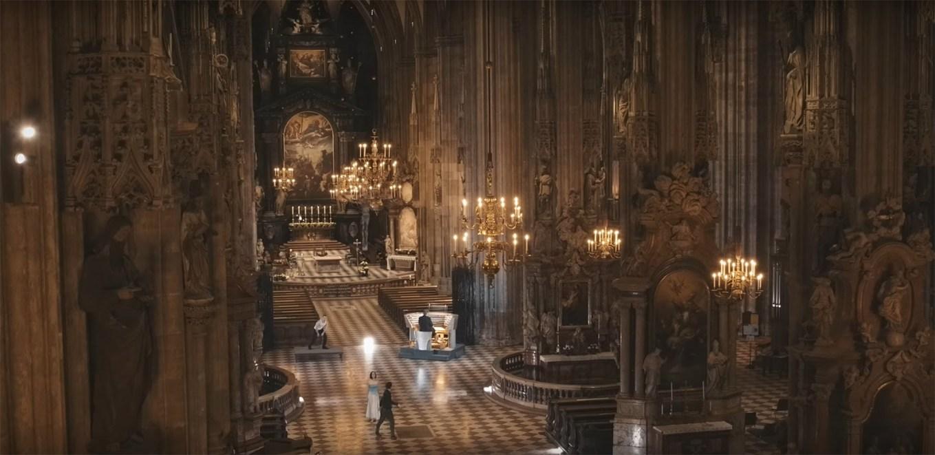 La cathédrale et les protagonsites