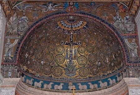 Mosaique-basilique-Saint-Clement-Rome