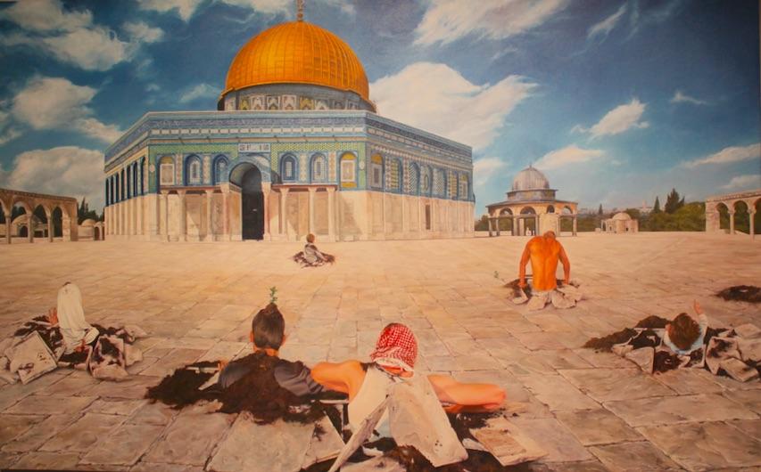 Underground evolution - Shadi Al Z aqzouq, artiste peintre à Gaza