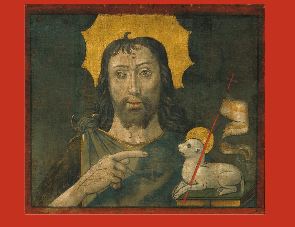 Maître de la Seu d'Urgell, Jean le Baptiste, 1495-1498, MNAC, Barcelone