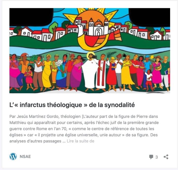 Article Jesús Martinez Gordo - Nsae