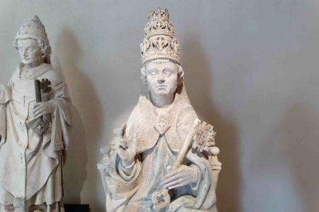 Saint Pierre en pape -XV-XVIe- Jumièges