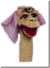 Camille the Camel Puppet
