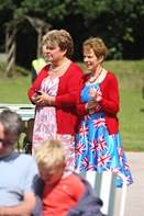 Diamond Jubilee Concert - Wendy and Cindy