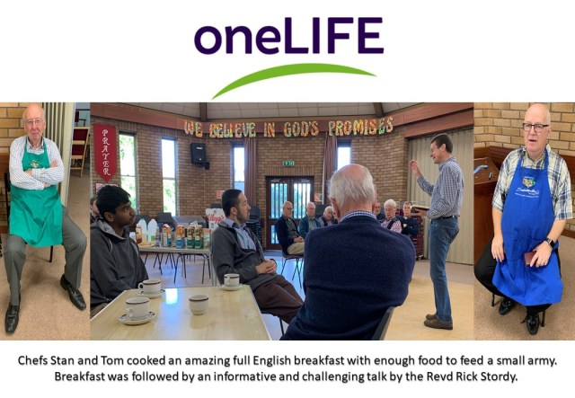 One Life Mission - Men's Breakfast (2019)