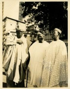 Sir Kofo Abayomi, Dr. Moses .A. Majekodunmi & Chief Obafemi Awolowo during the event