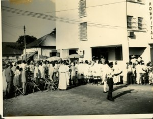 St. Nicholas Hospital at Campbell Street opening ceremony