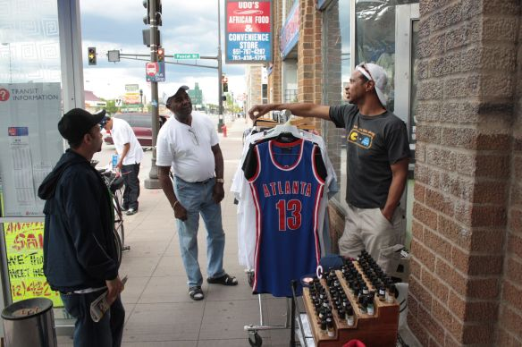 "Clifford believes owning a business is important in the community. ""They're starting to see themselves within me. 'You know, this guy is real, he's serious and he's black just like me.'"""