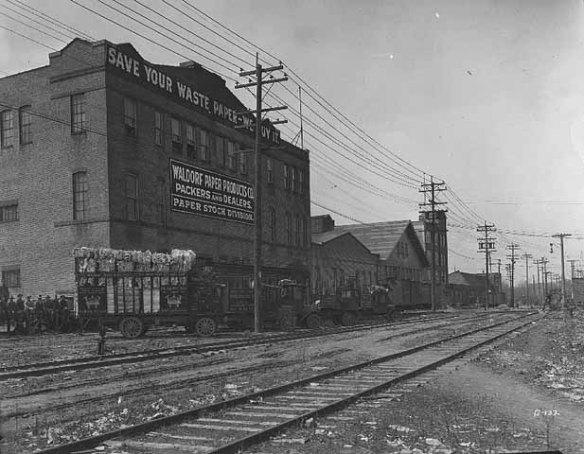 Waldorf Paper Products Company, circa 1925. Courtesy Minnesota Historical Society.