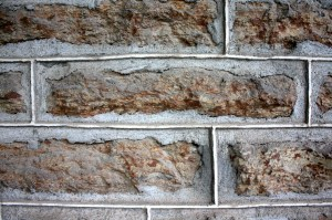 Limestone blocks quarried in Minnesota were used for the Ramsey House.