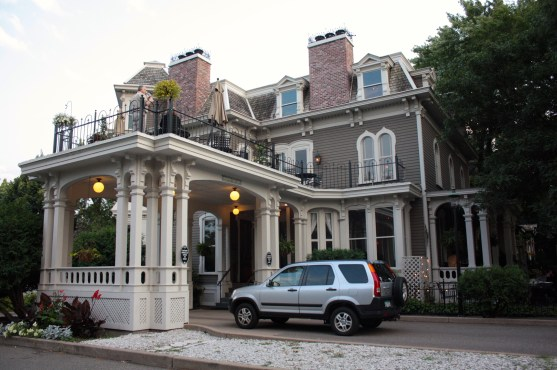 Built in 1870 the former Joseph Forepaugh House is now a restaurant. There are many who claim the building is haunted but I saw no signs of specters, spirits or other strange happenings the two times I visited.