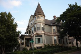 This stuningly beautiful home is the Murray-Lanpher House, 35 Irvine Park at Ryan Avenue. Built in 1886.
