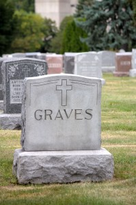 The Graves' grave.