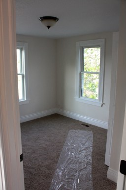 One of the smaller bedrooms.