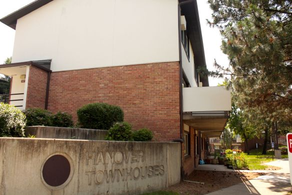 Hanover Townhomes officially has the address of 408 Farrington Street. The  were constructed in 1968 and 1969.