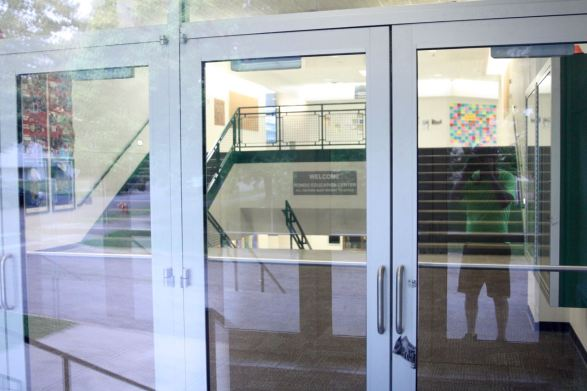 Because the Rondo Education Center was closed, this is the best shot I could get of the interior.