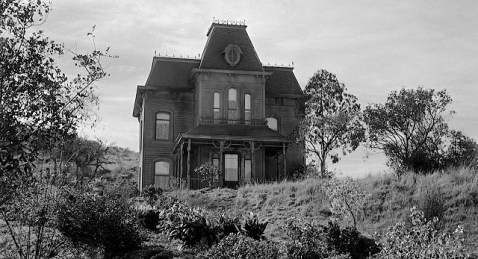 "The Bates' Home from the movie ""Psycho."" Courtesy www.retroweb.com"