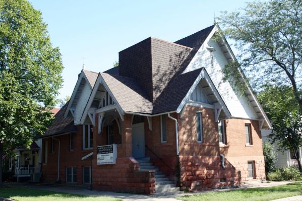 The Sharon Seventh-Day Adventist Church at 80 Leech Street.