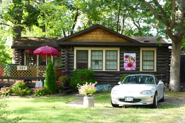 This cabin home is at 361 Burlington.